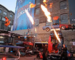 Duelling Liquid Flame Throwers - GM Corporate