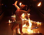 Flaming Letters - TRYST Nightclub