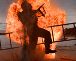 Black Powder Bomb with Stunt Performer - TV Show