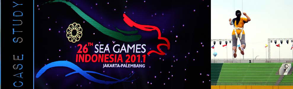 The South East Asian Games are the Olympics of Asia, and in 2011 Palembang, Indonesia was the host city. The opening ceremonies for any large-scale games event is always a lavish and over the top production and this time was no exception.